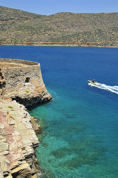 bluewater boat company blue water and boat spinalonga island crete greece