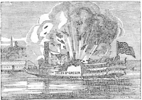 steamboat explosion the g p griffith the great lakes second worst passenger