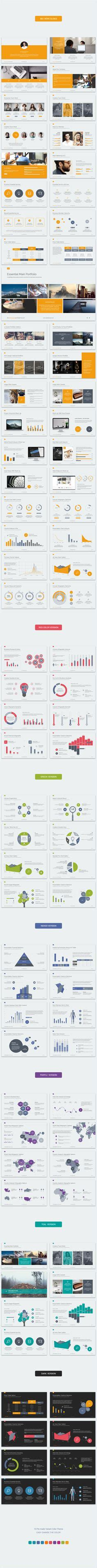 Simple Powerpoint Template With Clean And Elegant Easy To Edit Slides Powerpoint Presentations Wix Timeline Template