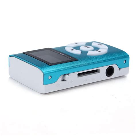 Lifier Usb Sd Card Player portable usb mini mp3 player lcd screen support 32gb micro