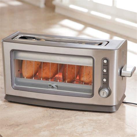 Toaster Mit Glasscheibe by Glass Toaster Gadgets Matrix