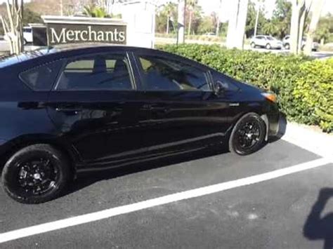 2012 toyota prius black with no wheel covers youtube