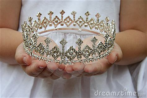 holding crown royalty  stock image image