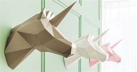 Polygon Paper Folding - geometric paper home decorations you can fold yourself