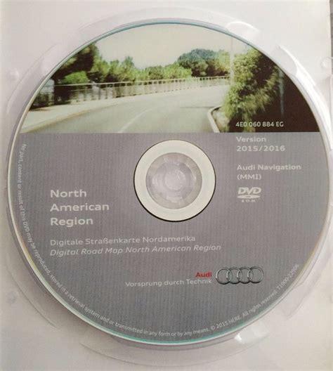 Audi Mmi 2g Update by 2016 Audi Mmi 2g Navigation Software Update Cd Dvd North