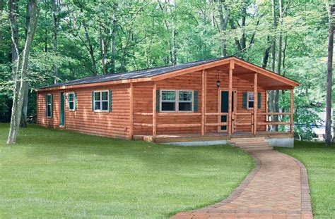 Log Cabin Trailer Homes by Wide Mobile Homes Interior Wide Mobile