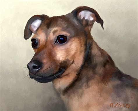 paintings of dogs digital paintings of dogs