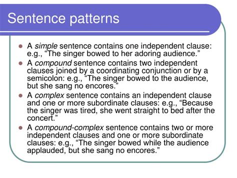 sentence pattern periodic ppt analysis of diction and syntax powerpoint