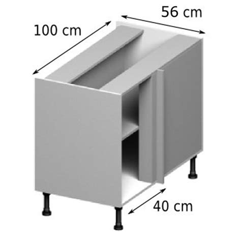 meuble de coin cuisine meuble caisson de coin vial menuiserie cuisine jardin