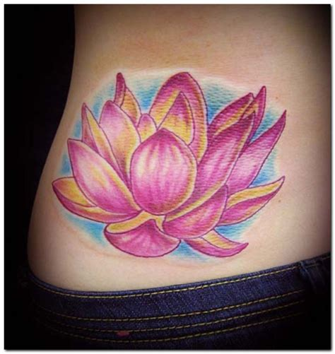 lotus flower back tattoo designs lotus flower tattoos designs