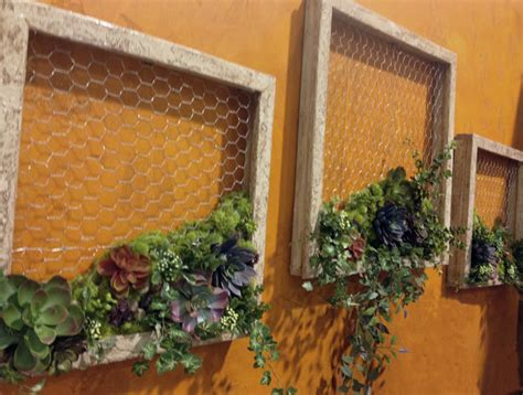 wall for the garden succulent garden diy wall decor favecrafts