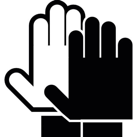 imagenes de simbolos con las manos palmas de las manos en blanco y negro s 237 mbolo detener