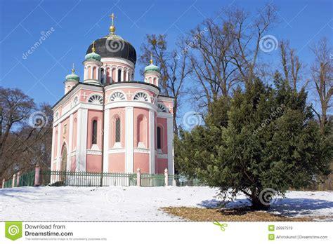 russisches viertel potsdam russische kirche potsdam deutschland stockbild bild