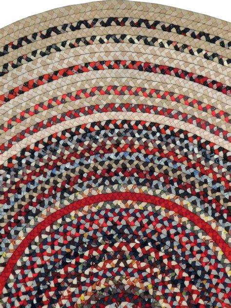 american braided rugs vintage american braid rug at 1stdibs