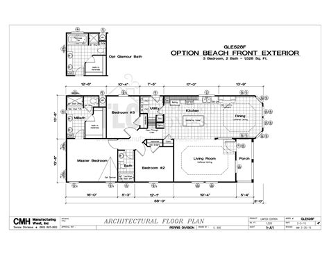 floor plans golden west limited series tlc manufactured homes