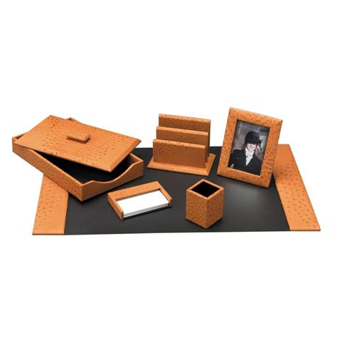 desk sets accessories mens desk accessories ostrich desk set desk accessories