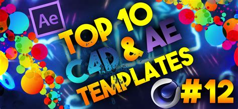 top 10 best motion graphics intro templates april 2017 top 10 3d intro templates 12 after effects cinema 4d