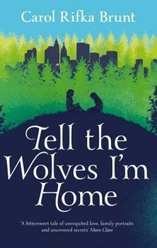 tell the wolves 183 carol rifka brunt 183 author of tell the