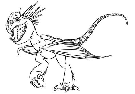 Coloring Page How To Your by How To Your Coloring Pages Stormfly