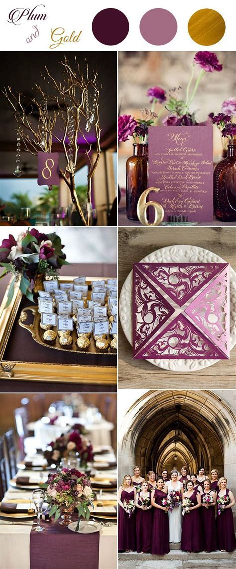 Best 25  Plum gold wedding ideas on Pinterest   Plum