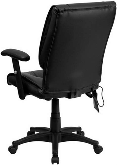 mid back office massage chair by flash furniture bt 2770p gg