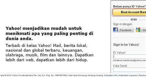 buat email yahoo baru bahasa indonesia aplication and game langkah langkah membuat email yahoo