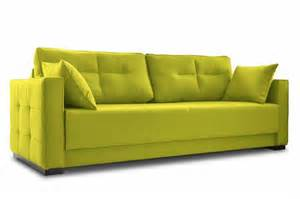 yellow sleeper sofa batto modern couch yellow sofa bed