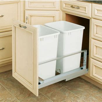 Free Standing Trash Can Cabinet by Page 19 Trash Cans Free Standing Built In