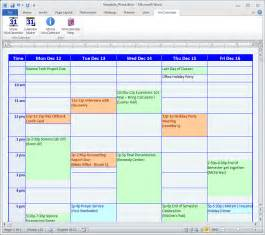 schedule maker excel template calendar maker calendar creator for word and excel