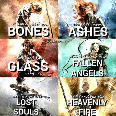 shadowhunters city  bones city  ashes city  glass city  fallen angels city
