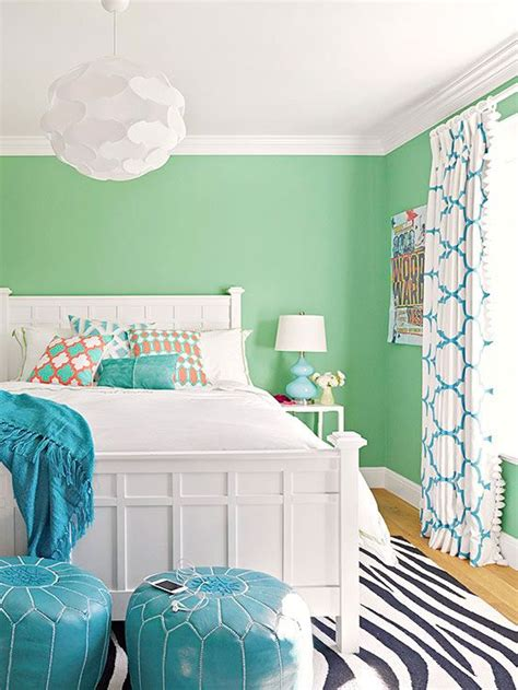 mint green bedroom walls real life colorful bedrooms