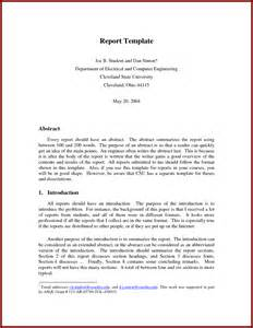 professional business report template business professional report