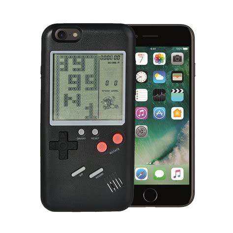 Casing Iphone 7 Plus Gameboy Color Custom vrtimes retro 3d boy tpu for iphone 7