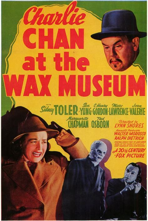 watch charlie chan at the wax museum 1940 full movie trailer charlie chan at the wax museum movie posters from movie poster shop