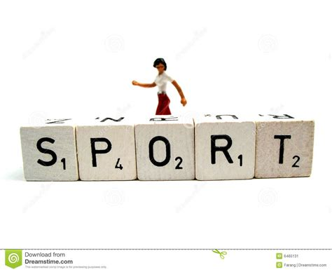 The Word sport stock image image 6465131