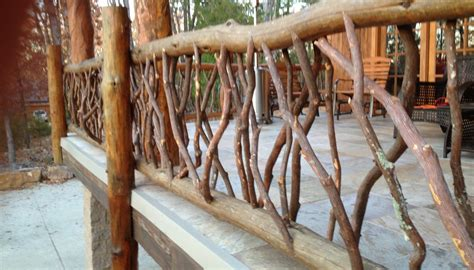 tree branch banister deck railing ideas for your home find one for you part 3