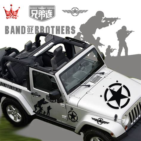 Stiker Wrangler Sticker Mobil Jeep Decals Stickers Images