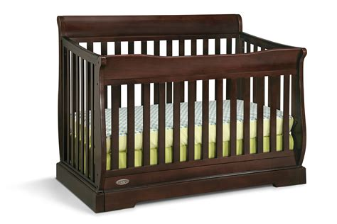 Graco Convertible Crib Replacement Parts Graco Maple Ridge 4 In 1 Convertible Crib Espresso Baby Baby Furniture Cribs