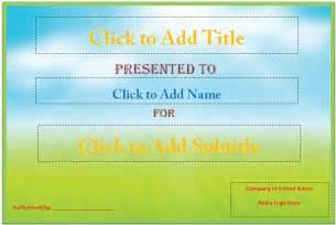 award certificate template microsoft word certificate word template new calendar template site
