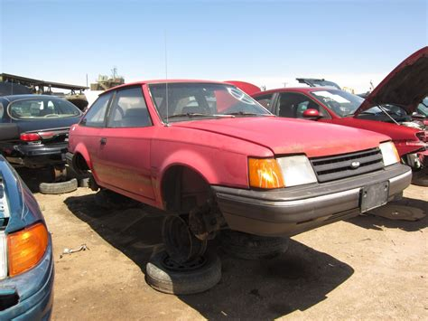 junkyard find 1990 ford escort pony the truth about cars