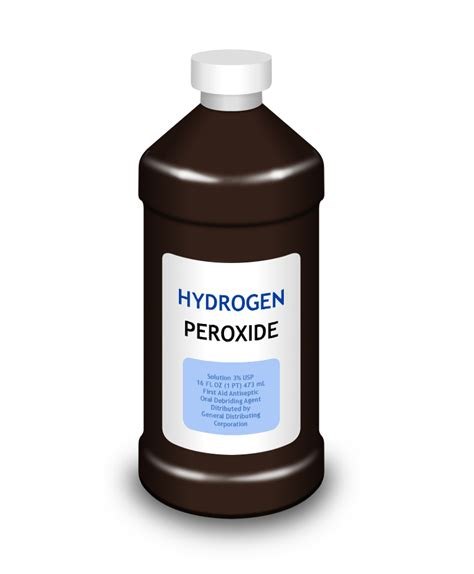 Hidrogen Peroksid how often should hydrogen peroxide be used to treat wounds