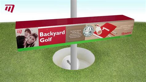 backyard golf set masters golf backyard golf set pe057 youtube gogo papa