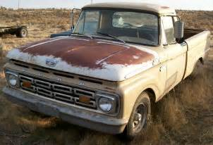 1964 Ford Truck For Sale 1964 Ford F 100 Styleside 1 2 Ton Truck For Sale