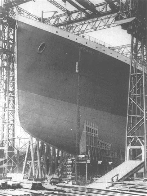 RMS Titanic: Konstruktionen af verdens største liner