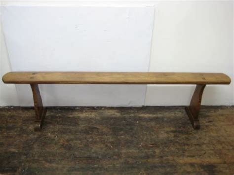 long skinny bench long narrow french cherrywood bench 92875
