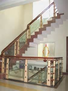 Wood Glass Stairs Design Wooden Glass Railing Wood Stairs Glass Staircase In Delhi India Furniture