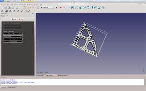 render template amusements with freecad we working render templates
