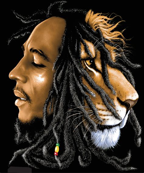 bob marley lion wallpaper wallpapersafari