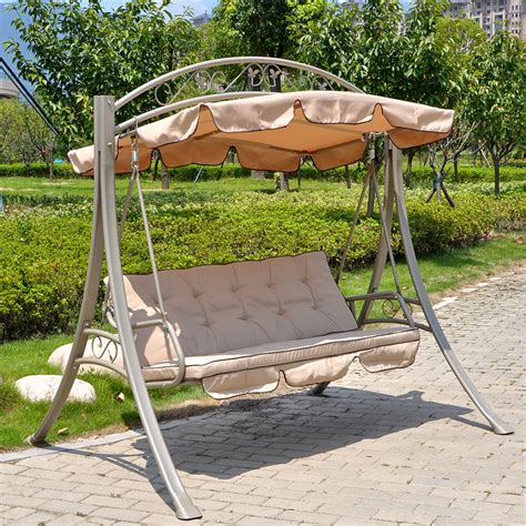 Patio Hammock Chair Cradle Swing Hanging Chair Hammock Baskets Balcony Patio Garden Chairs Rocking Outdoor Furniture