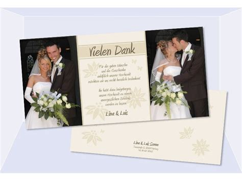 Hochzeitseinladung Unterschreiben by Danksagungskarte Karte Hochzeit Dankeskarte Hochzeitskarte